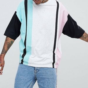 ASOS oversized T-shirt with half sleeve